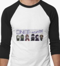 Once Upon A Time's Most Wanted Men's Baseball ¾ T-Shirt