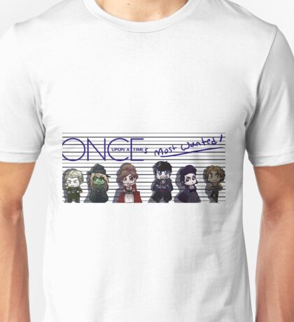 Once Upon A Time's Most Wanted Unisex T-Shirt
