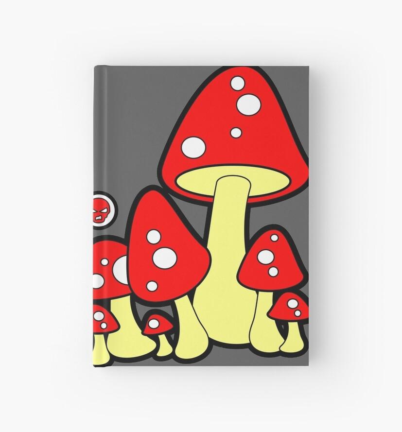 Mushrooms Red by Sookiesooker