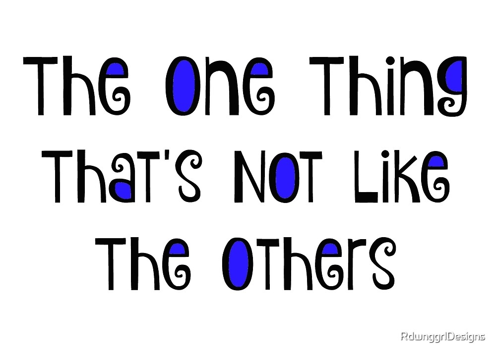 The One Thing by RdwnggrlDesigns