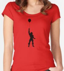 I HAVE THE BALLOON! Women's Fitted Scoop T-Shirt