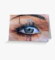 farsighted Grußkarte