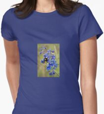 Bumble Bee On Larkspur T-Shirt