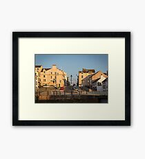 Shipping Brow, Maryport  Framed Print