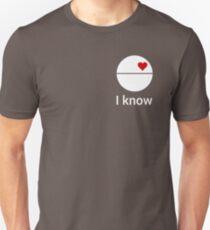 I know (death star) white T-Shirt