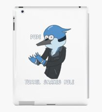 Dude, Tunnel Snakes Rule iPad Case/Skin