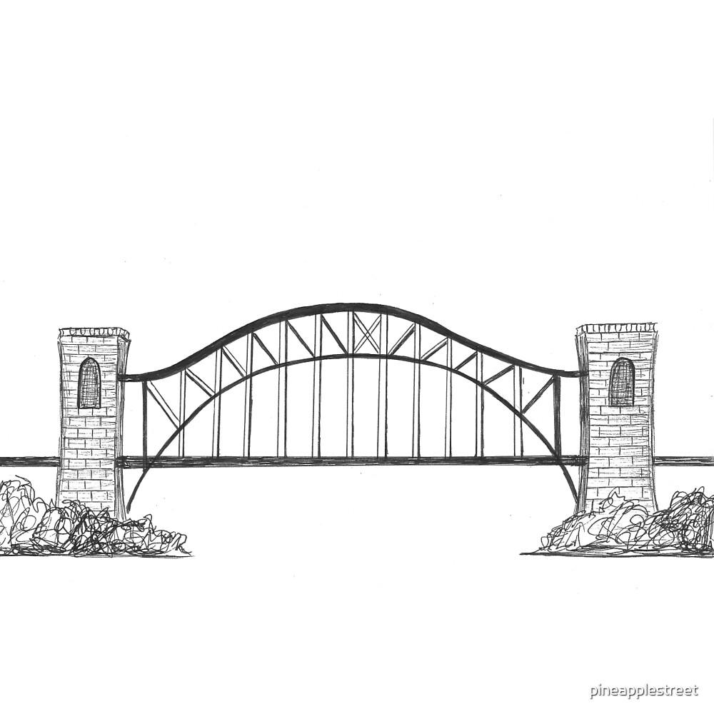 Astoria Hell Gate Bridge by pineapplestreet