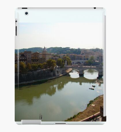 Just Around the River Bend iPad Case/Skin