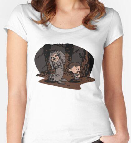 Best Friends? (sticker friendly) Women's Fitted Scoop T-Shirt