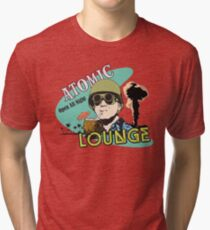 Atomic Lounge Tri-blend T-Shirt