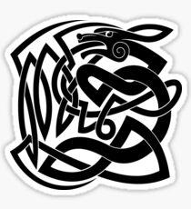 Celtic Shapeshifter symbol Sticker