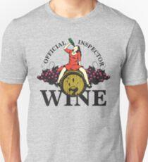 Official Wine Inspector Unisex T-Shirt