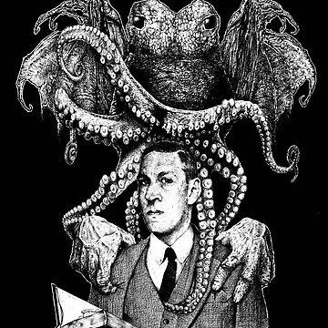 Lovecraft & Cthulhu by mattdez