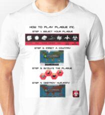 How to play Plague Inc.  T-Shirt