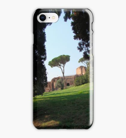 Looking Under the Umbrella Tree iPhone Case/Skin