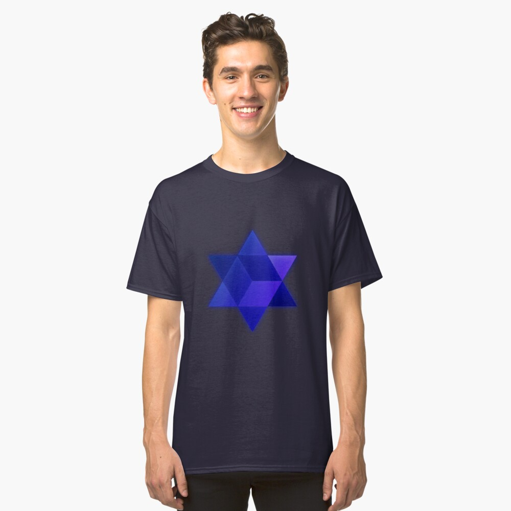 Metatron star Classic T-Shirt Front