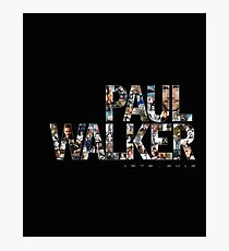 Paul Walker 2 Photographic Print