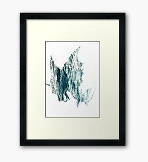 Mega Gyrados used Surf Framed Print