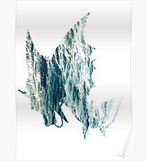 Mega Gyrados used Surf Poster
