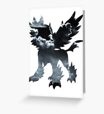 Mega Absol used Feint Attack Greeting Card