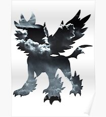 Mega Absol used Feint Attack Poster