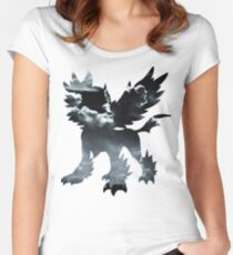 Mega Absol used Feint Attack Women's Fitted Scoop T-Shirt