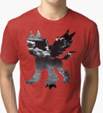 Mega Absol used Feint Attack Tri-blend T-Shirt
