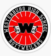 Westerburg High School Rottweilers Sticker