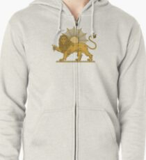 National Emblem of Iran, Provisional Government of Iran, 1979-1980 Zipped Hoodie