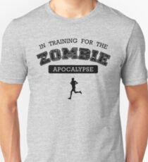 Training for the zombie apocalypse Unisex T-Shirt