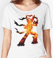 Mega Blaziken used Blast Burn Women's Relaxed Fit T-Shirt