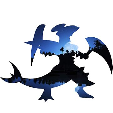 Mega Garchomp used Night Slash by gagewhite10