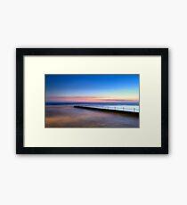 Shimmer in the Dawn Framed Print
