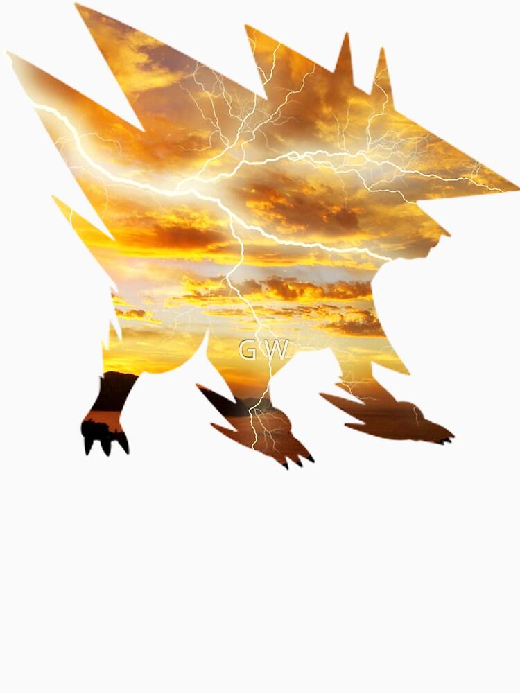 Mega Manectric Thunder Wave by gagewhite10