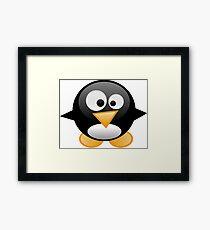 penguin work 1 Framed Print