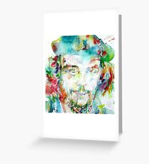 CHE GUEVARA - watercolor portrait Greeting Card
