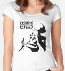 Cowboy Bebop Spike Women's Fitted Scoop T-Shirt
