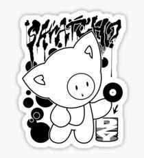 Cat Skratch Graf Sticker