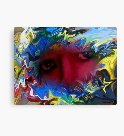 Your eyes say everything without a single word Canvas Print