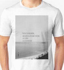 Alice Wonderland Begin Unisex T-Shirt