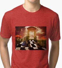 Alice in a Hurry Tri-blend T-Shirt