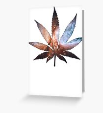Ganja Greeting Card
