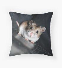 Diglett The Hamster 3 Throw Pillow