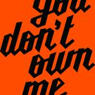 You Don't Own Me by LibertyManiacs