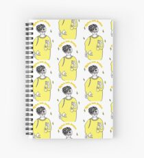big bird loves drinkies Spiral Notebook