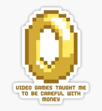 8-Bit Lessons: Video Games Taught Me To Be Careful With Money Sticker