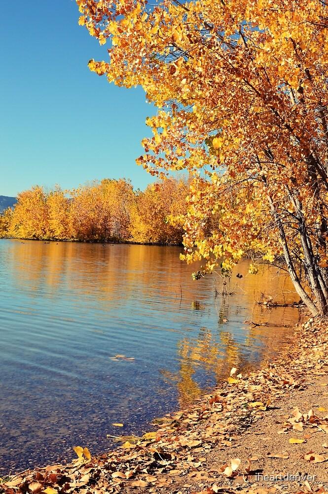 Autumn Lake by iheartdenver
