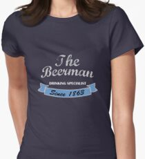 The Beerman Womens Fitted T-Shirt
