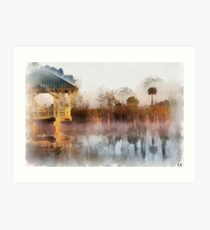The Amazing Florida Everglades  Art Print