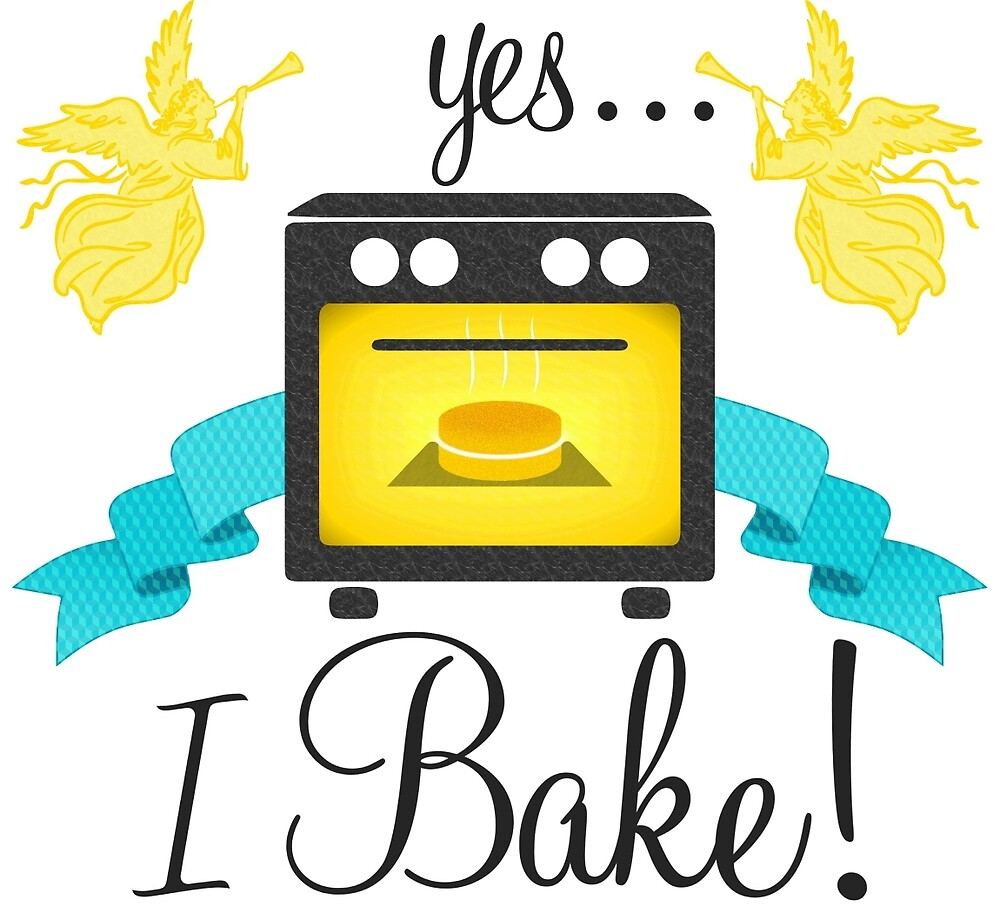 """""""Yes... I Bake!"""" Oven Emblem by TheCuckoo"""